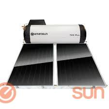Frost protected solar hot water systems, Envirosun TS Plus closed circuit