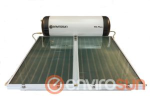Stainless steel solar hot water systems TS plus Envirosun