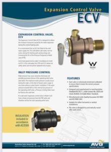 Envirosun solar hot water valve